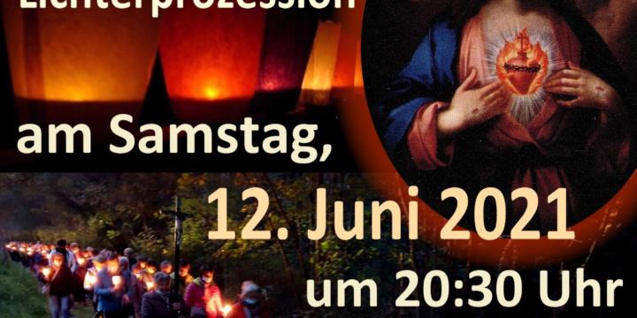 Herz-Jesu-Prozession am 12. Juni 2021